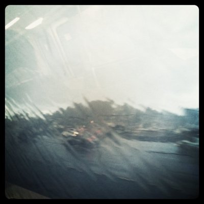 Rainy Bart ride (Taken with Instagram at Bay Fair BART)