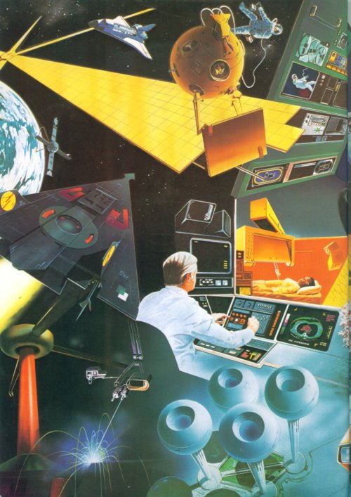 urlesque:  soupsoup:  The World of Tomorrow as imagined in 1983 (Pointless Museum)  Can this happen yet?