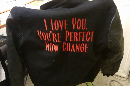Jessica's I Love You, You're Perfect, Now Change Jacket