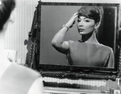 Juliette Greco in Crack in the Mirror, 1960.