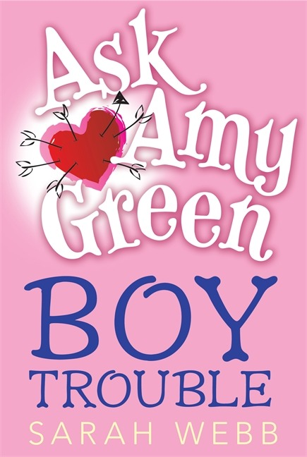 Ask Amy Green: Boy Trouble, by Sarah Webb. Pros: Like a more-realistic, more issue-y, more accessible Georgia Nicholson. Cons: Like a more-realistic, more issue-y, more accessible Georgia Nicholson. Cute, but unless I hear something amazing, I'll skip the sequel.