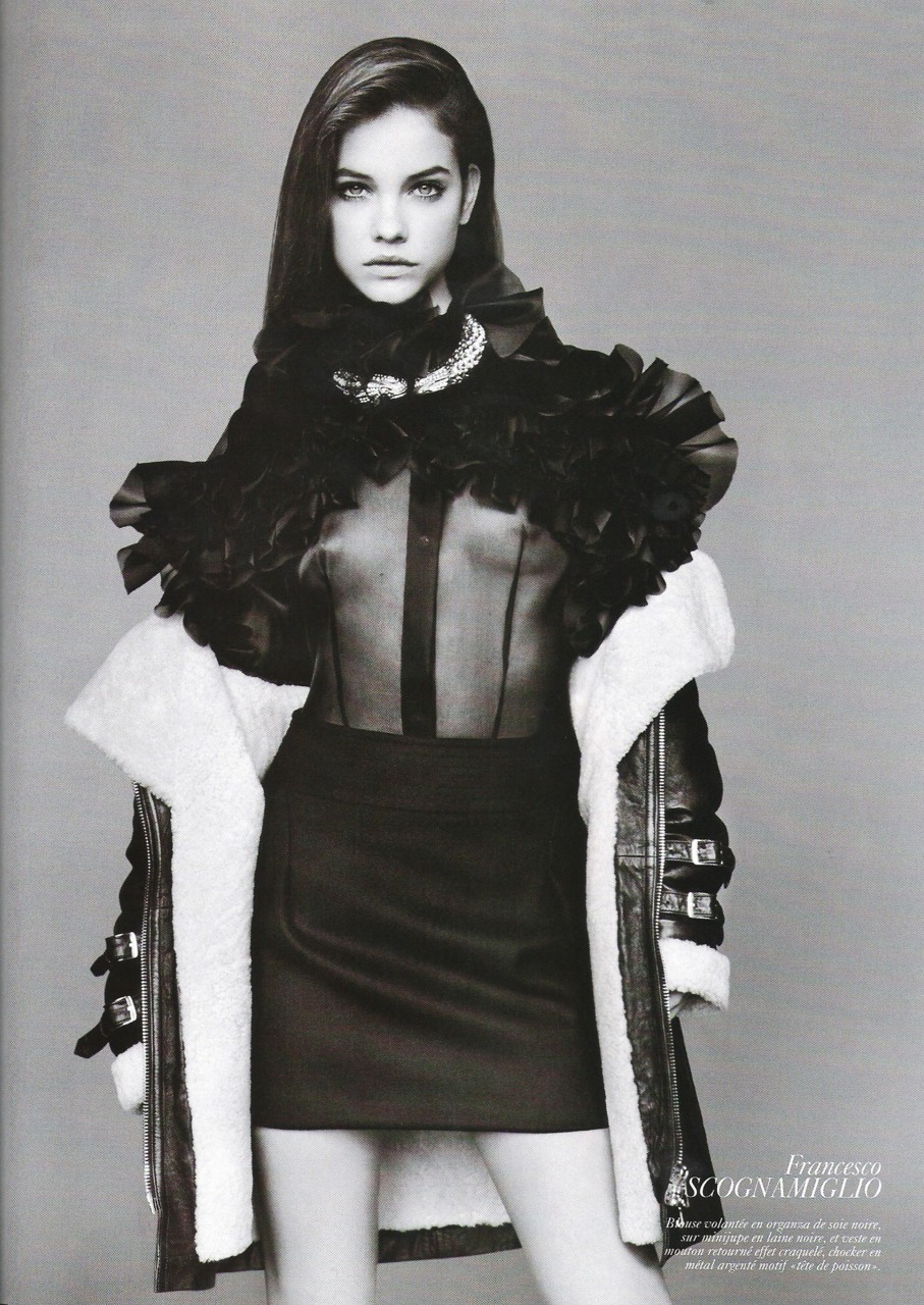 Barbara Palvin in Vogue Paris, June/July 2010.