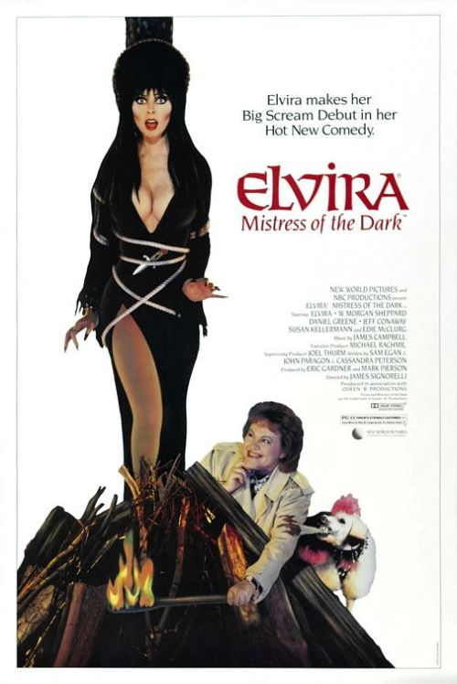"""Elvira, Mistress of the Dark"", 1988 samuraifrog"