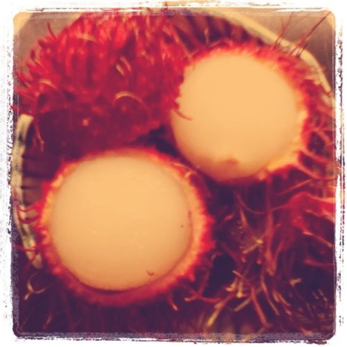 Rambutan (Taken with Instagram at Calgary #yyc)
