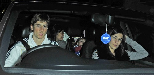 Fernando and Olalla out to celebrate Fernando's birthday 20 March 2011 (VI)