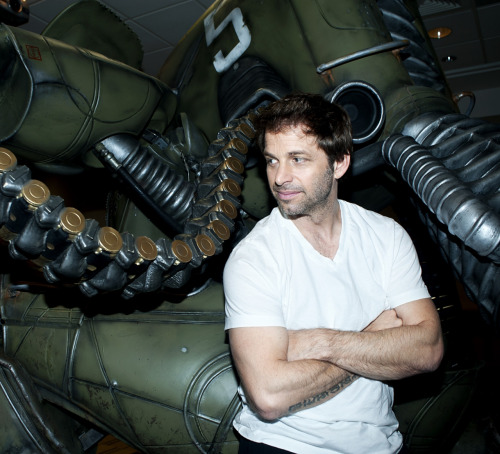 Sucker Punch director and writer Zack Snyder in Beverly Hills. Photo by Dan Steinberg.