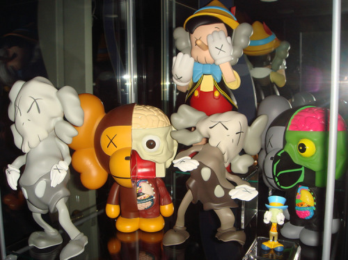 KAWS display