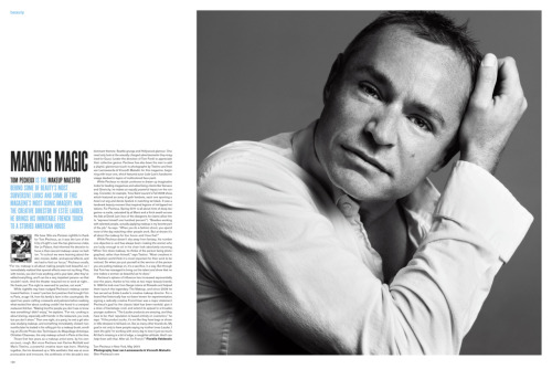 Tom Pecheux in V Magazine Spring 2011 (V70).Click on image to enlarge!
