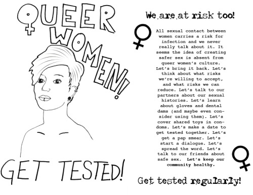 feministsuperpowers:  I'm getting tested today!! Are you?