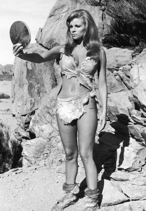 "Raquel Welch in ""One Million Years B.C."" 1966"