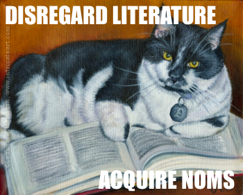 Disregard literature, acquire noms.