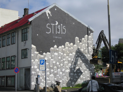 """Stage of his Poems"" Reykjavik, Iceland Photo: Pet_r"
