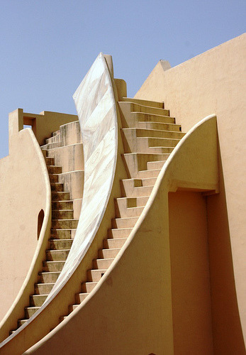 worldheritagesites:  Curved Steps, Jantar Mantar - India