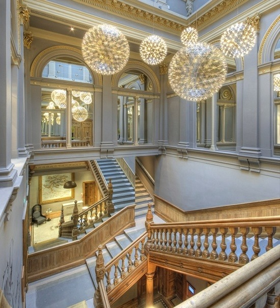 Simply gorgeous. (via architectural beauty: corinthian club, glasgow @ Nestfully)