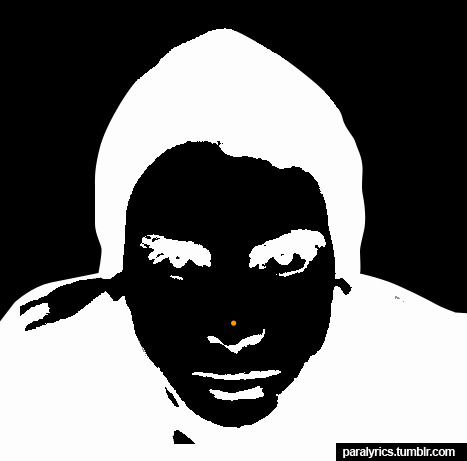 1.Stare at the orange dot for 30 seconds. 2.Move your gaze to a blank wall. 3.Blink 10 times Also see Hayley here. Picture source