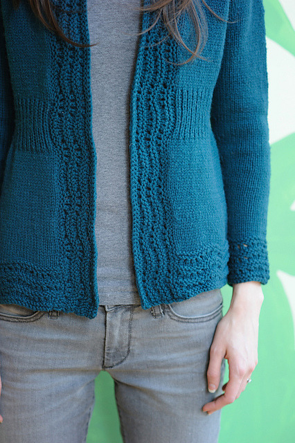 Estelle cardigan by Melissa LeBarre