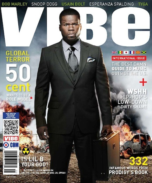 "50 Cent Shares His Thoughts On Face Tattoos In Vibe Magazine ""That's the craziest thing. Not necessarily Gucci, but to tattoo your  face says that there's not a possibility that you can actually walk into  a legitimate establishment without makeup covering your face every day.  That does not work. It creates a separation. It says, ""I'm an artist.""  That's it. That's the statement you make when you go and tattoo your  face…But know that the public will not have interest in you as an artist  for life.Read more:  50 Cent Shares His Thoughts On Face Tattoos In Vibe Magazine 
