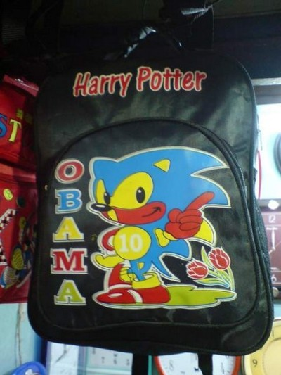 All the best things in world combined in one perfect backpack.