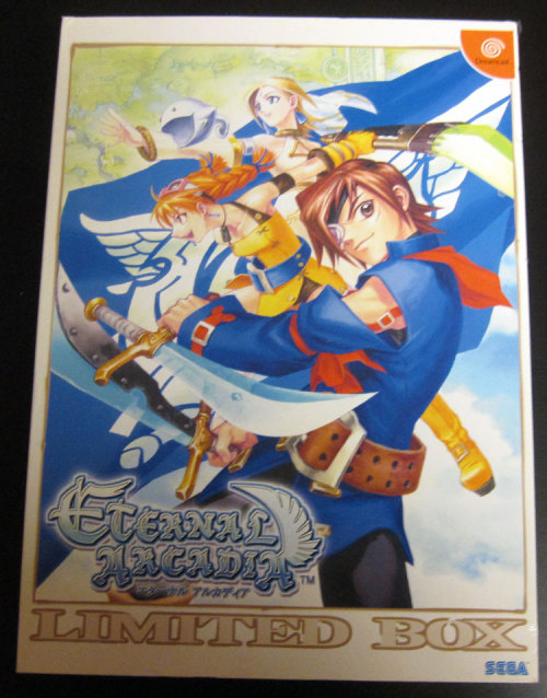 "Auction: Skies of Arcadia (Dreamcast) Limited Edition Box Signed By Noriyoshi OhbaChristian Nutt has posted an auction for a very rare (and rather large) limited edition box set of Skies of Arcadia for Dreamcast signed by Noriyoshi Ohba, head of Overworks.You are bidding on a LIMITED EDITION Japanese ETERNAL ARCADIA box set for the Dreamcast. The game was known as SKIES OF ARCADIA in the US and Europe. (The included game will only play on a Japanese Dreamcast unit and all text is in Japanese.)The game's manual has been SIGNED by Noriyoshi Ohba, the head of Overworks, the development team which produced SKIES OF ARCADIA. (The ""over"" in Overworks is a play on his last name, Ohba.)The auction ends on 16:13:12 PDT. All proceeds will benefit Global Giving."