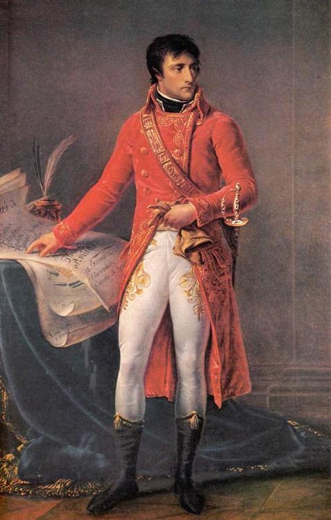 Napoleon Bonaparte! Y U so AWESOME???
