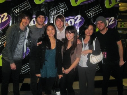 Got to meet All Time Low.