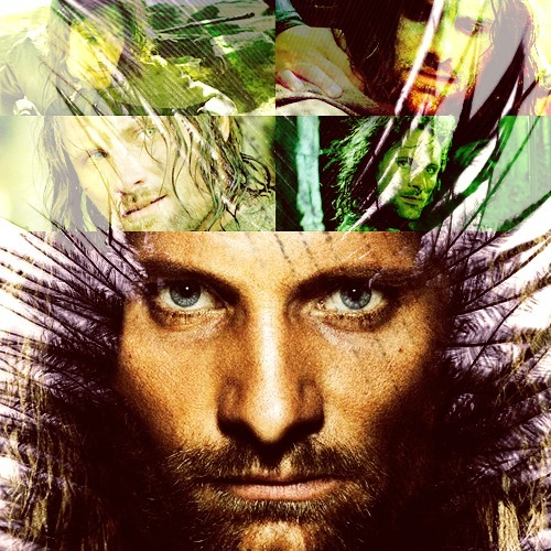 50 FAVORITE FICTIONAL CHARACTERS PICSPAM  Aragorn → The Lord of the Rings