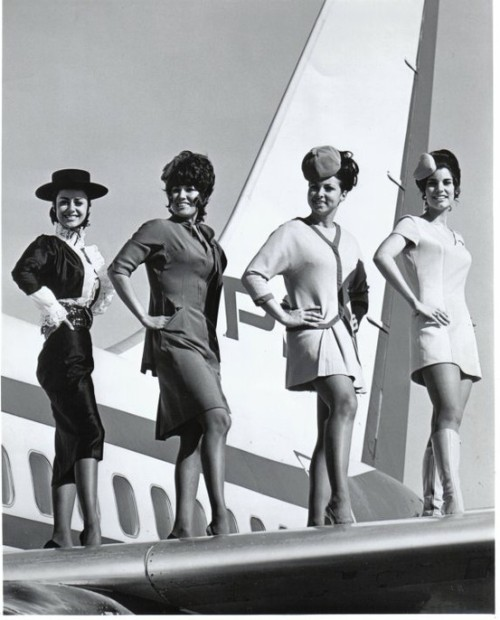 Pacific Southwest Airlines ad