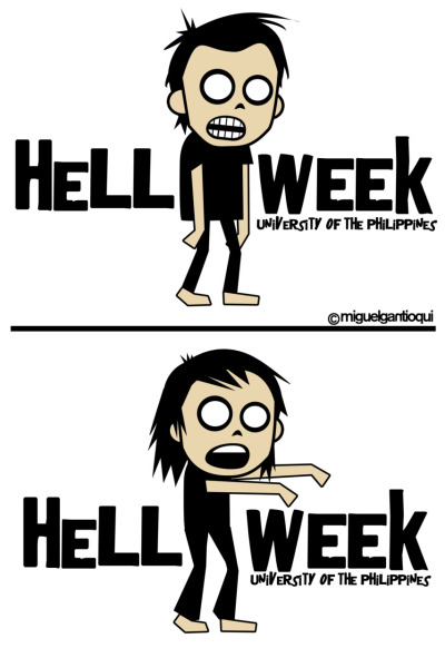 Hell Week Shirts. 2010.