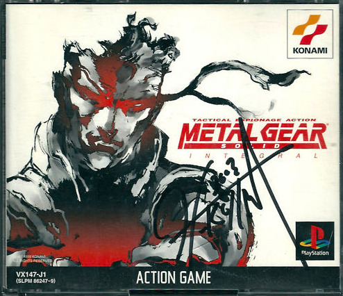 "Auction: Metal Gear Solid Integral (PSone) Signed By Hideo KojimaRe-released versions aside, Alex Fraioli has now ensured that Metal Gear Solid 4 is the last title among the console games that doesn't have an autographed copy up for auction at this point. He's selling an original copy of Metal Gear Solid Integral autographed by Hideo Kojima.This is a copy of Metal Gear Solid: Integral (released only in Japan) signed by Hideo Kojima. The game combines the original MGS with the standalone ""VR Missions"" released in the US. This is a complete package, including the original manual and memory card stickers in addition to the game's three discs (MGS on two discs plus the VR Missions disc). Please note that this is the original release of the game (not the ""Konami the Best"" or ""PSOne Books"" rereleases).This auction ends March 29 at 20:18:10 PDT. All proceeds will go to Global Giving."