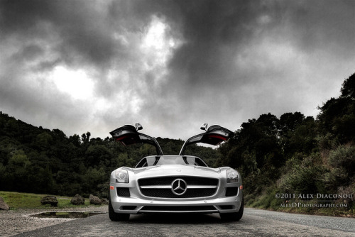 Mercedes-Benz SLS AMG by alexDPhotography HD wallpapers