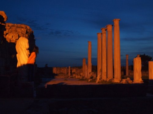 Salamis by moonlight #2.