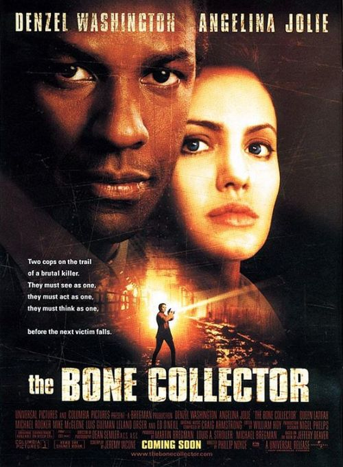 2000 - Bone Collector de  Phillip Noyce Acteur : Angelina Jolie, Denzel Washington, Queen Latifah