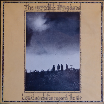 The Incredible String Band - Liquid Acrobat As Regards The Air Label: Island Cat#: ILPS 9172 Folk-Rock, Psych Folk, UK, 1971 RYM / Discogs