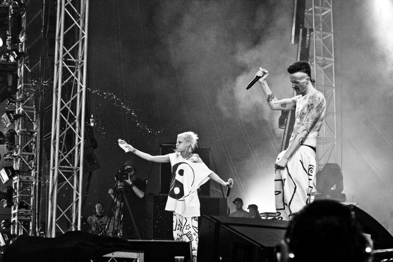 Die Antwoord Gold Coast Big Day Out 2011
