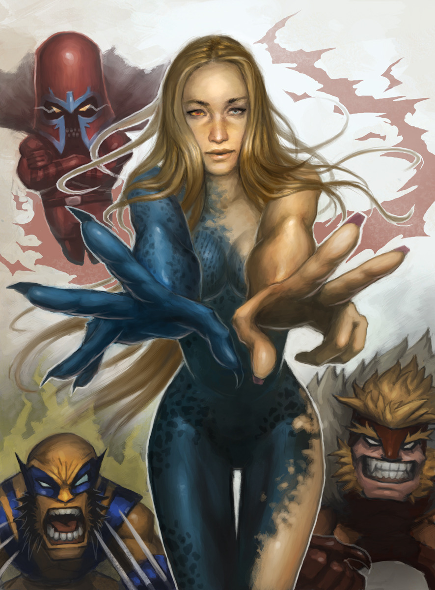 Mystique X-Men: First Class by Xia Taptara