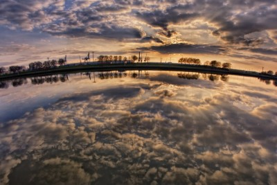 River of Clouds by Jonas Ginter
