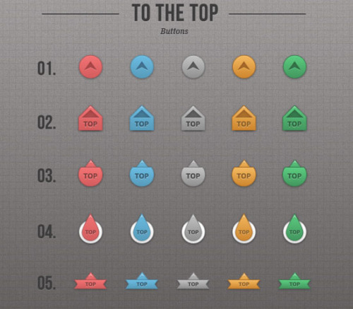 "Simple ""To the top"" Buttons By Themes Kingdom Download"