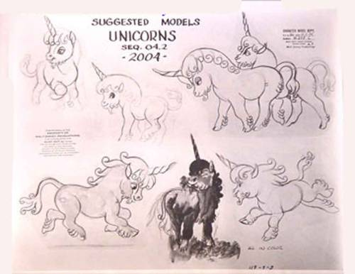 Disney: Model Sheet, Fantasia