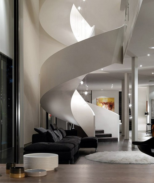 micasaessucasa:  (via Inspiration : 10 Gorgeous Staircase Designs)