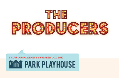 Just finished the show logos for Park Playhouse's 2011 season
