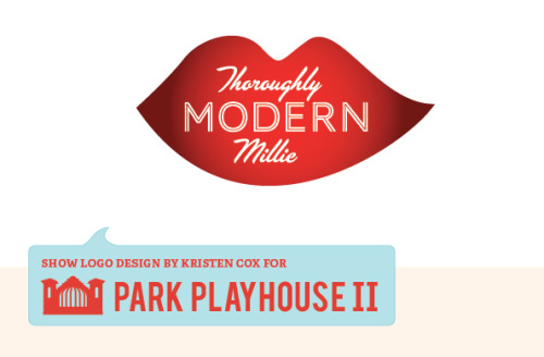 Park Playhouse II is doing Thoroughly Modern Millie and, yes, I like red.