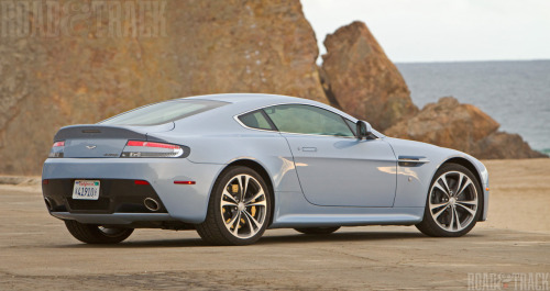 Oceanfront view Only 1000 lucky owners will ever experience the Aston Martin V12 Vantage.