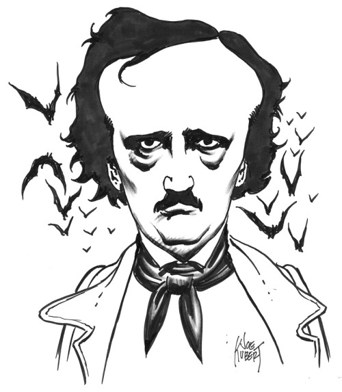 Edgar Allan Poe by Joe Kubert