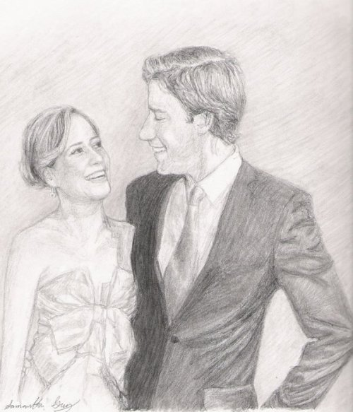 mrs-halpert: dwightfightingabear: Jim and Pam