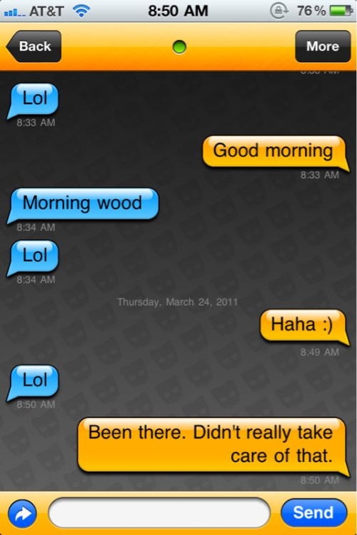Sometimes Grindr is fun.