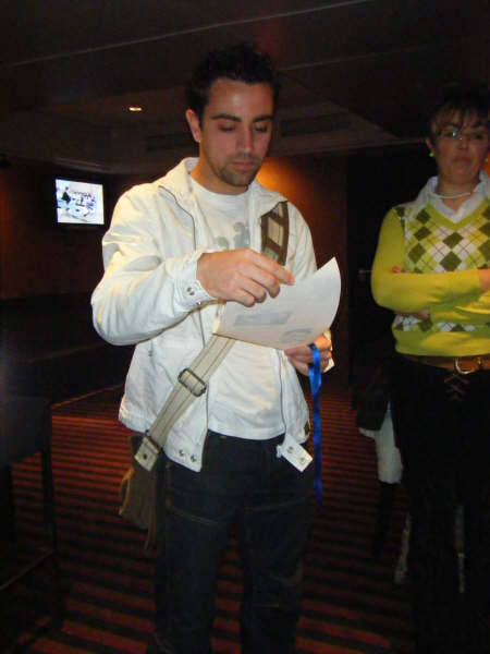 Yes, I'll be reblogging nothing but Xavi all today. Not sorry though.