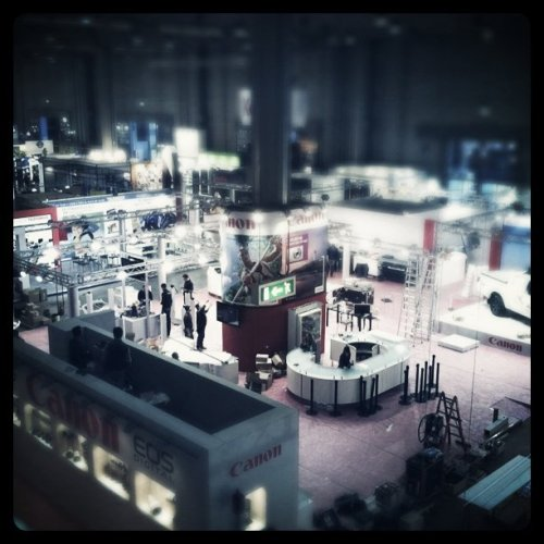 Work in progress (Taken with Instagram at FieraMilanoCity)