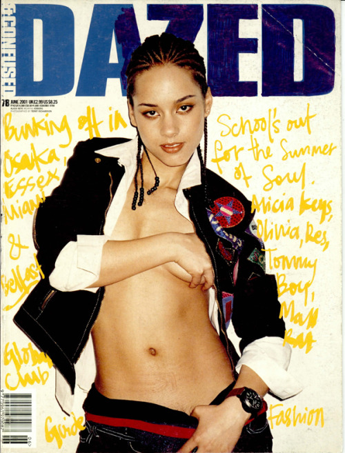 dazeddigital:  DAZED TIME MACHINE: Dazed & Confused Magazine | June 2001 | Issue 78