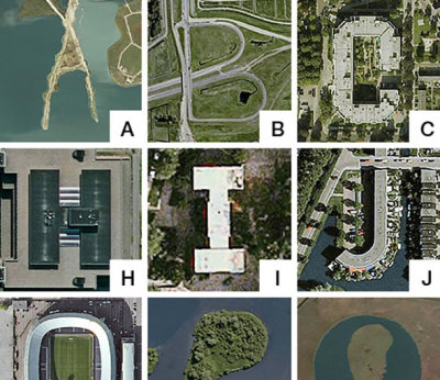 The Google Earth Alphabet