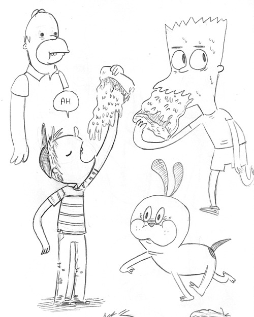 citriccomics:  So I drew a bunch of Simpsons fanart the last few days because Lulinterweb told me to. If you tell me to give into binge drawing when I'm about to start I probably will do it, but you probably need to tell me on twitter Anyways you should click-through and see all the other pictures.